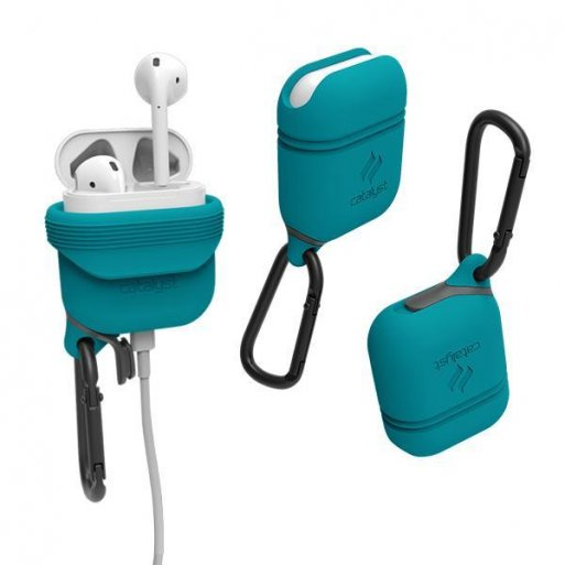 AirPods Case Catalyst Wasserdichtes Case für Apple AirPods - Hellblau