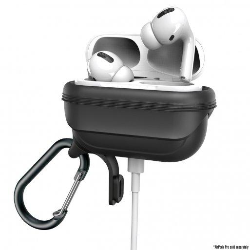AirPods Case Catalyst Wasserdichtes Case für Apple AirPods Pro - Schwarz