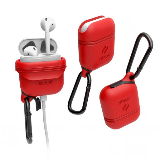 AirPods Case Catalyst Wasserdichtes Case für Apple AirPods - Rot