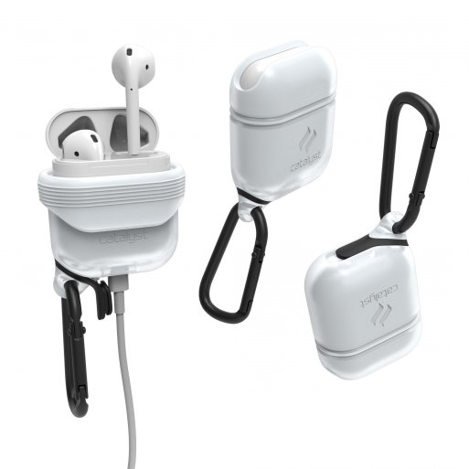 AirPods Case Catalyst Wasserdichtes Case für Apple AirPods - Weiss
