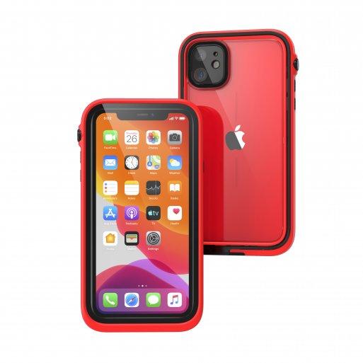 iPhone 11 Handyhülle Catalyst Wasserdichtes Case - Rot