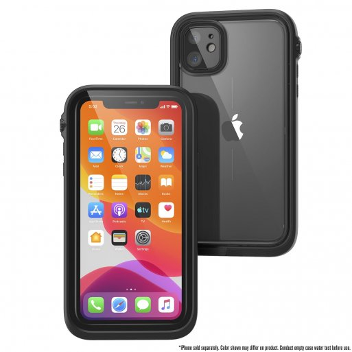 iPhone 11 Handyhülle Catalyst Wasserdichtes Case - Schwarz