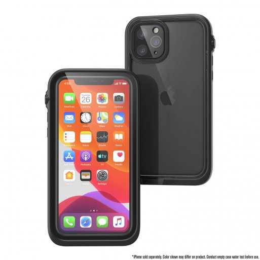 iPhone 11 Pro Handyhülle Catalyst Wasserdichtes Case - Schwarz