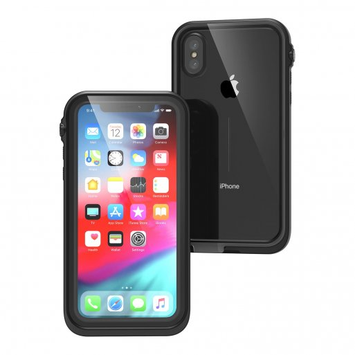 iPhone XS Max Handyhülle Catalyst Wasserdichtes Case - Schwarz