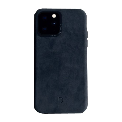 iPhone 11 Handyhülle Decoded Biodegradable Leather Backcover - Blau