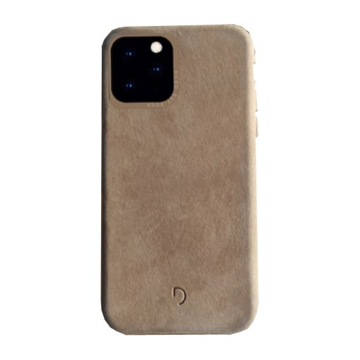 iPhone 11 Handyhülle Decoded Biodegradable Leather Backcover - Rosa