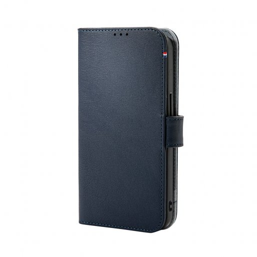iPhone 13 Pro Max Handyhülle Decoded Detachable MagSafe Leather Wallet - Dunkelblau