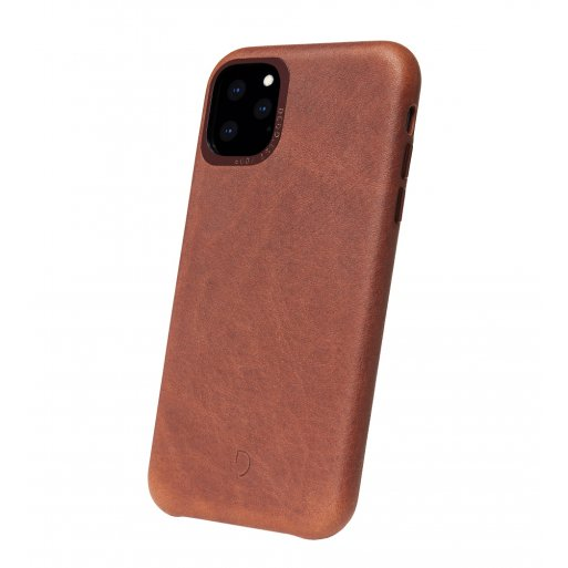 iPhone 11 Pro Max Handyhülle Decoded Leather Backcover - Braun