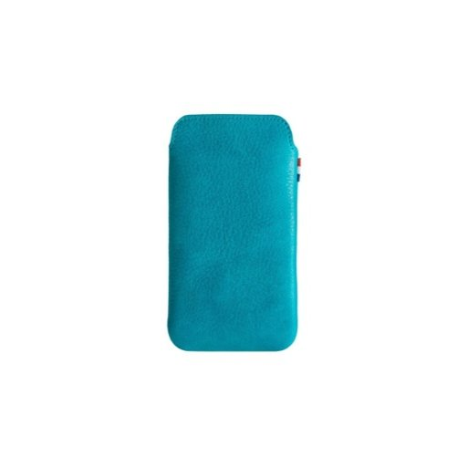 iPhone 5 Handyhülle Decoded Leather Pouch - Blau