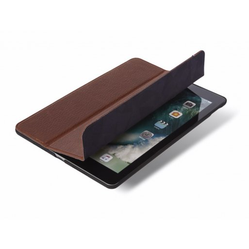 iPad Air Hülle Decoded Leather Slim Cover - Braun