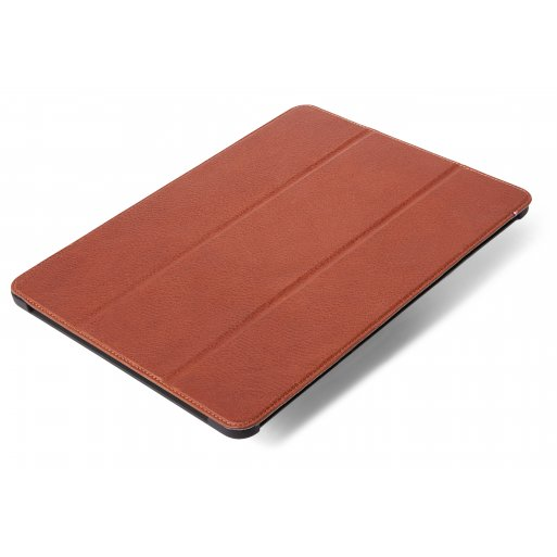 iPad Pro 12.9 (2018) Hülle Decoded Leather Slim Cover - Braun
