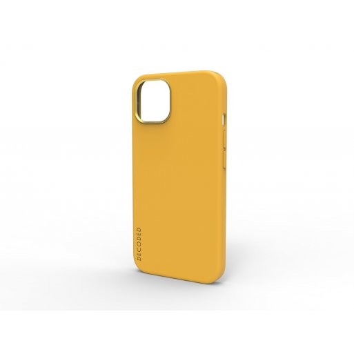 iPhone 13 Handyhülle Decoded Silicone MagSafe Backcover - Hellbraun