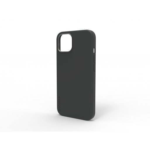 iPhone 13 Handyhülle Decoded Silicone MagSafe Backcover - Schwarz