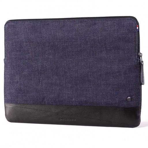 MacBook Tasche Decoded Slim Sleeve 15'' - Blau