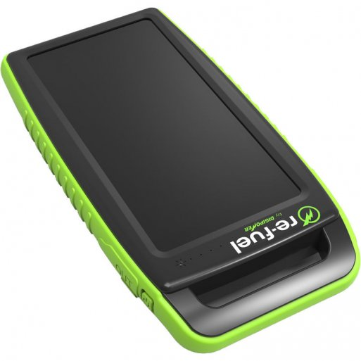 iPhone Powerbank Digipower 10'000mAh Solar Powerbank - Schwarz