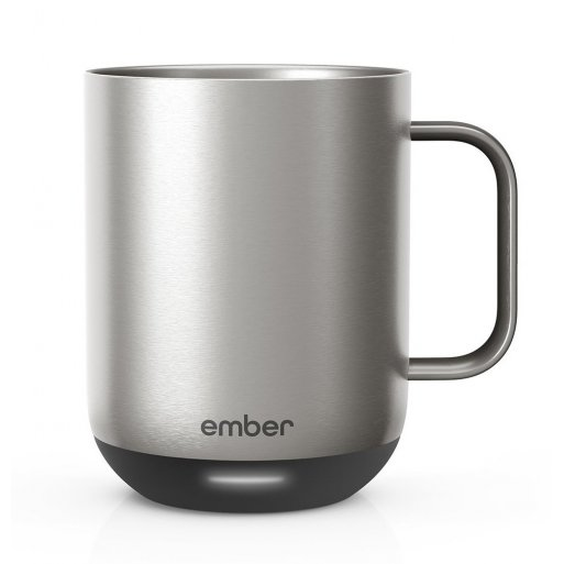 iPhone Gadget Ember Mug2 Metallic Collection (295 ml) - Silber