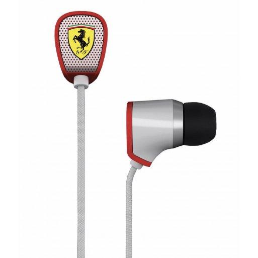 iPad Kopfhörer Ferrari by Logic3 Scuderia R100i - Weiss