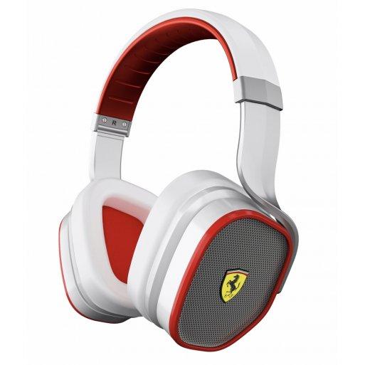 iPad Kopfhörer Ferrari by Logic3 Scuderia R300 - Weiss