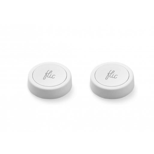 iPhone Gadget Flic 2 Bluetooth Smart Button Double Pack - Weiss