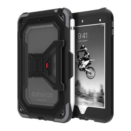 iPad Air 10.9 (2020) Hülle Griffin Survivor All-Terrain Case - Schwarz