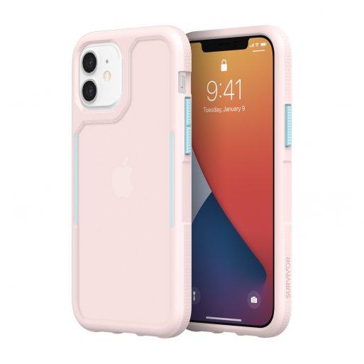 iPhone 12 mini Handyhülle Griffin Survivor Endurance - Rosa