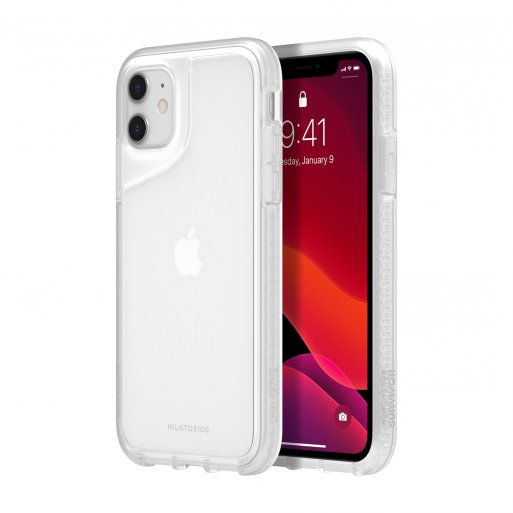 iPhone 11 Handyhülle Griffin Survivor Strong - Transparent