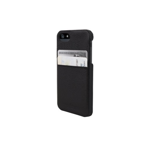 iPhone 5 Handyhülle HEX SOLO WALLET - Schwarz