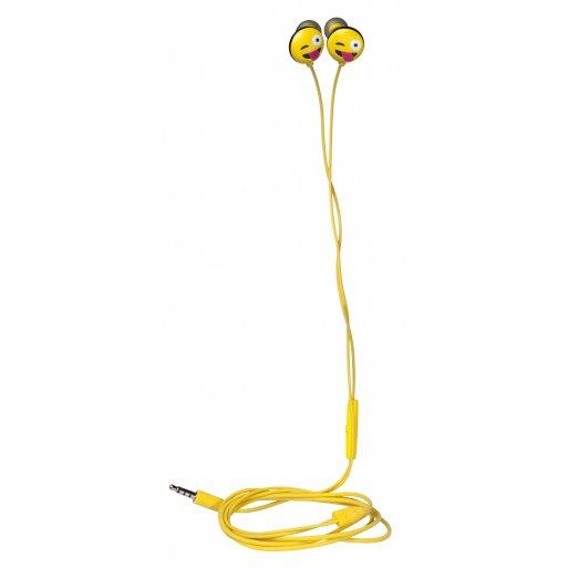 MacBook Kopfhörer HMDX JAM Jamoji Just Kidding Headphones - Gelb