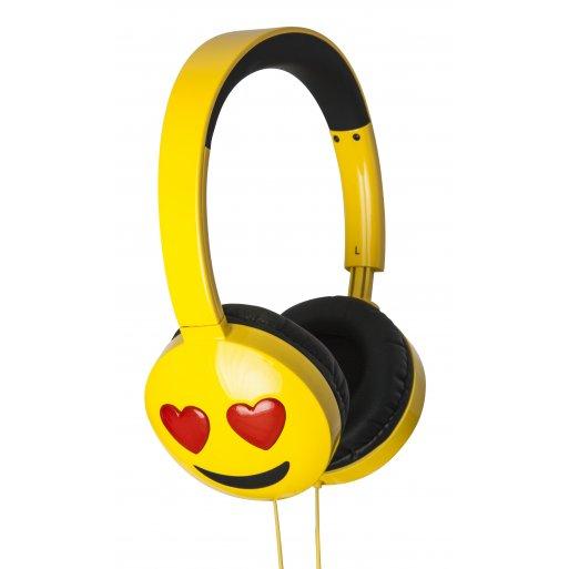 MacBook Kopfhörer HMDX JAM Jamoji Love Struck - Gelb