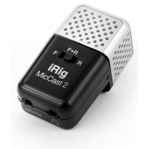 iPhone Gadget IK Multimedia iRig Mic Cast 2 - Schwarz
