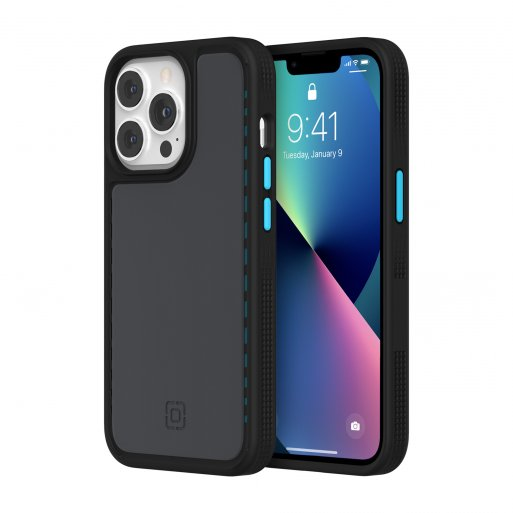 iPhone 13 Pro Handyhülle Incipio Optum - Schwarz-Hellblau