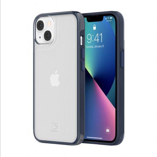 iPhone 13 Handyhülle Incipio Organicore Clear - Transparent-Dunkelblau