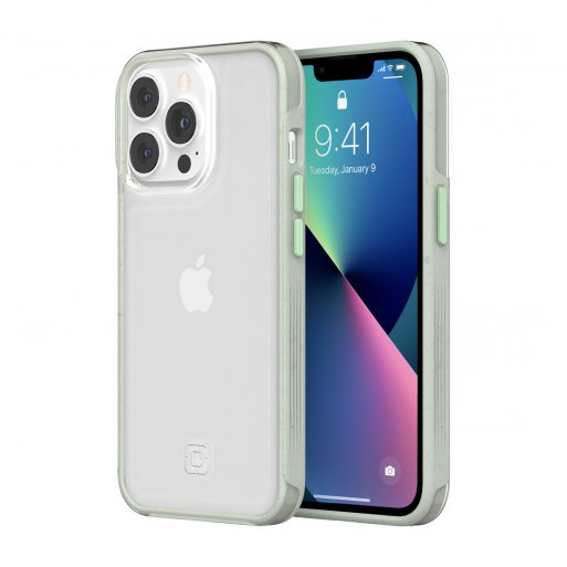 iPhone 13 Pro Handyhülle Incipio Organicore Clear - Transparent-Hellgrün