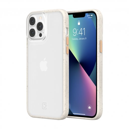 iPhone 13 Pro Max Handyhülle Incipio Organicore Clear - Transparent-Orange