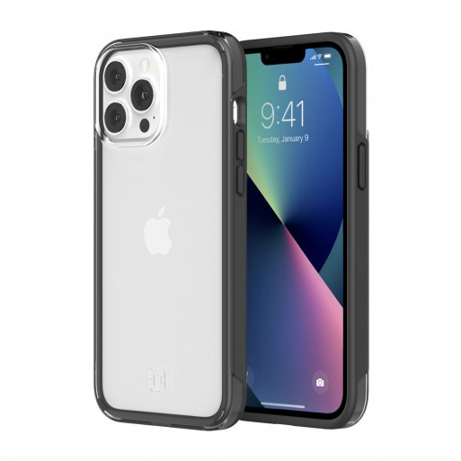 iPhone 13 Pro Max Handyhülle Incipio Organicore Clear - Transparent-Space Gray