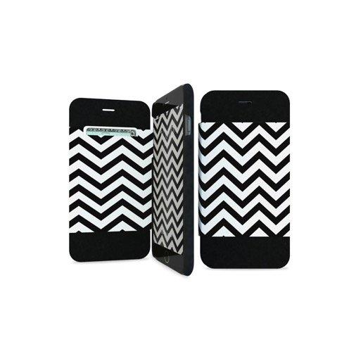 iPhone 6 Handyhülle iPaint Folio Case - Schwarz-Weiss