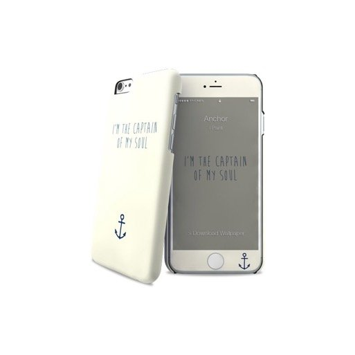 iPhone 6S Handyhülle iPaint Hard Case + Skin - Weiss