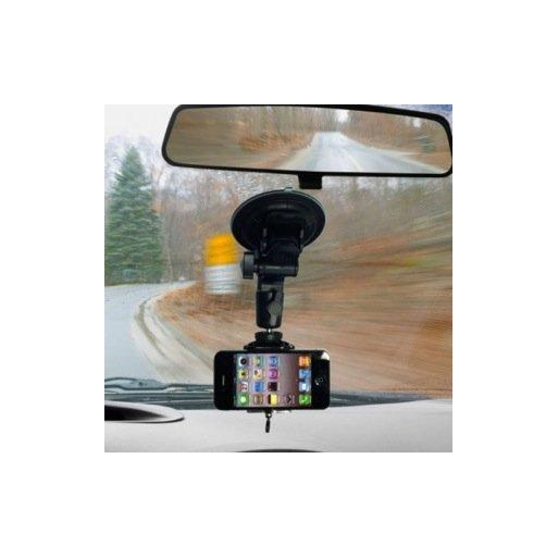 iPhone Halterung iStabilizer Glass Autohalterung - Schwarz