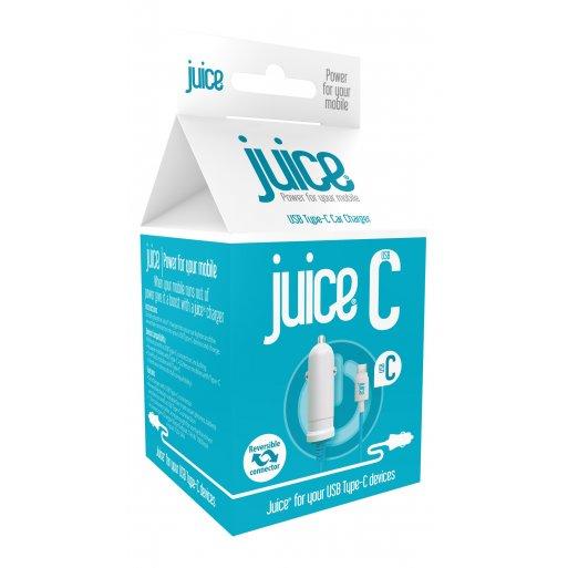 iPad Autoladegerät Juice USB-C Car Charger - Schwarz