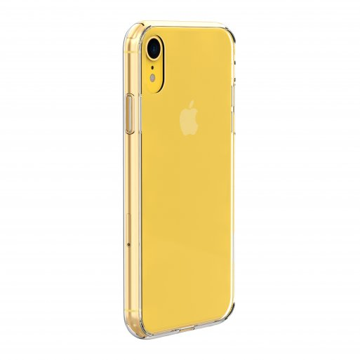 iPhone XR Handyhülle Just Mobile TENC Air Case - Transparent