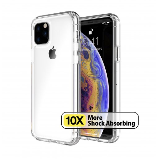iPhone 11 Pro Handyhülle Just Mobile TENC Case - Transparent