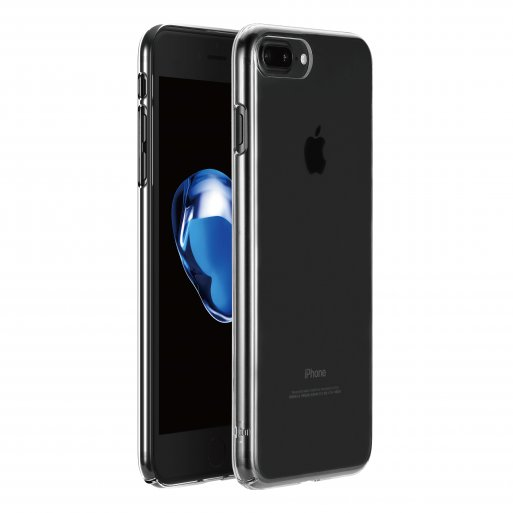 iPhone 8 Plus Handyhülle Just Mobile TENC Case - Transparent