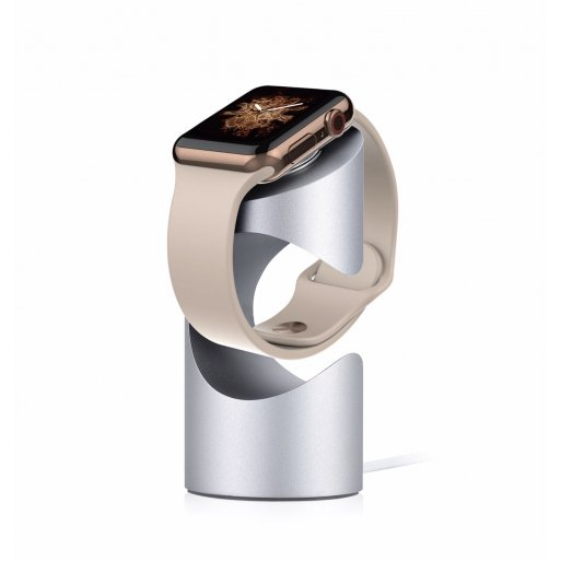 Apple Watch Ladestation Just Mobile TimeStand für Apple Watch - Silber