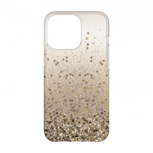 iPhone 13 Pro Handyhülle Kate Spade New York Protective Hardshell Case - Gold