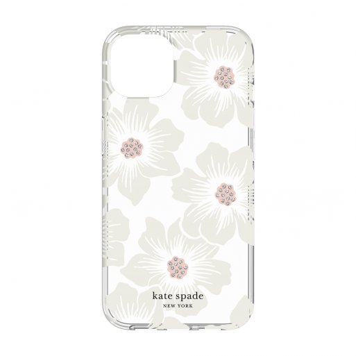 iPhone 13 Handyhülle Kate Spade New York Protective Hardshell Case - Transparent-Weiss