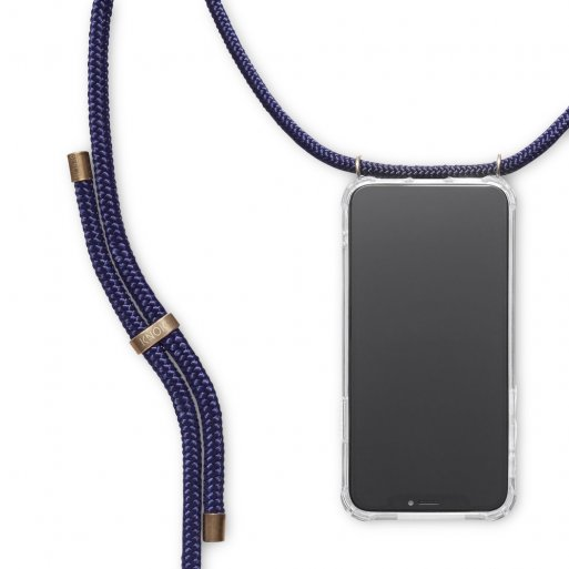 iPhone 11 Pro Max Handyhülle Knok iPhone Necklace - Blau