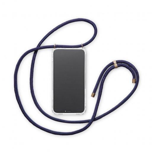 iPhone 12 mini Handyhülle Knok iPhone Necklace - Dunkelblau