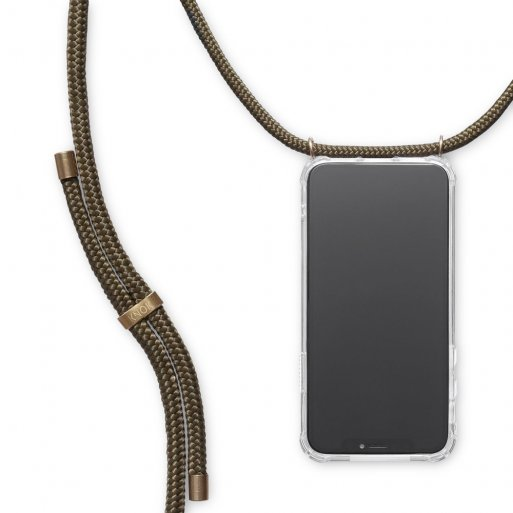 iPhone 11 Pro Handyhülle Knok iPhone Necklace - Dunkelgrün
