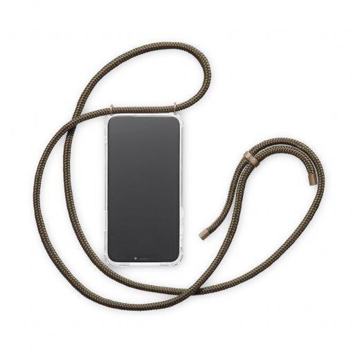 iPhone 12 mini Handyhülle Knok iPhone Necklace - Dunkelgrün