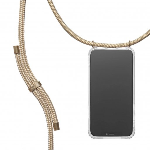 iPhone 13 mini Handyhülle Knok iPhone Necklace - Gold